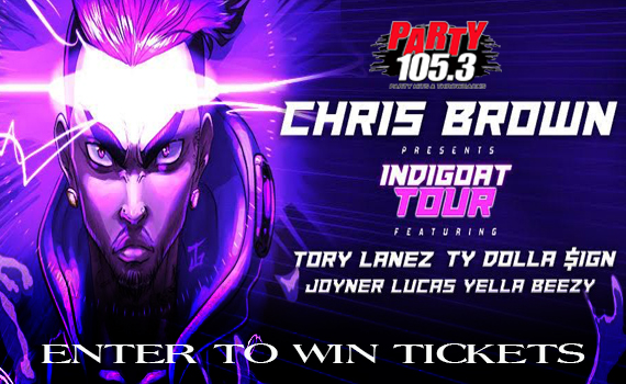 Chris Brown Tour 2020.Chris Brown Ticket Giveaway Party Fm